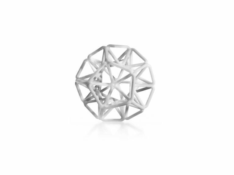 PolyJet - VeroWhite_FC830_Geometric_Shape